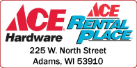ACE HARDWARE ADAMS