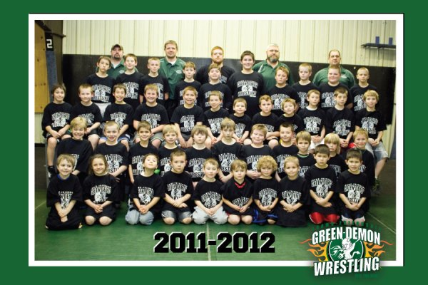 AF GREEN DEMONS - 2011-2012 TEAM PHOTO